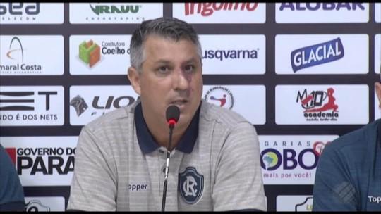 Luciano Mancha é apresentado como novo executivo de futebol do Remo