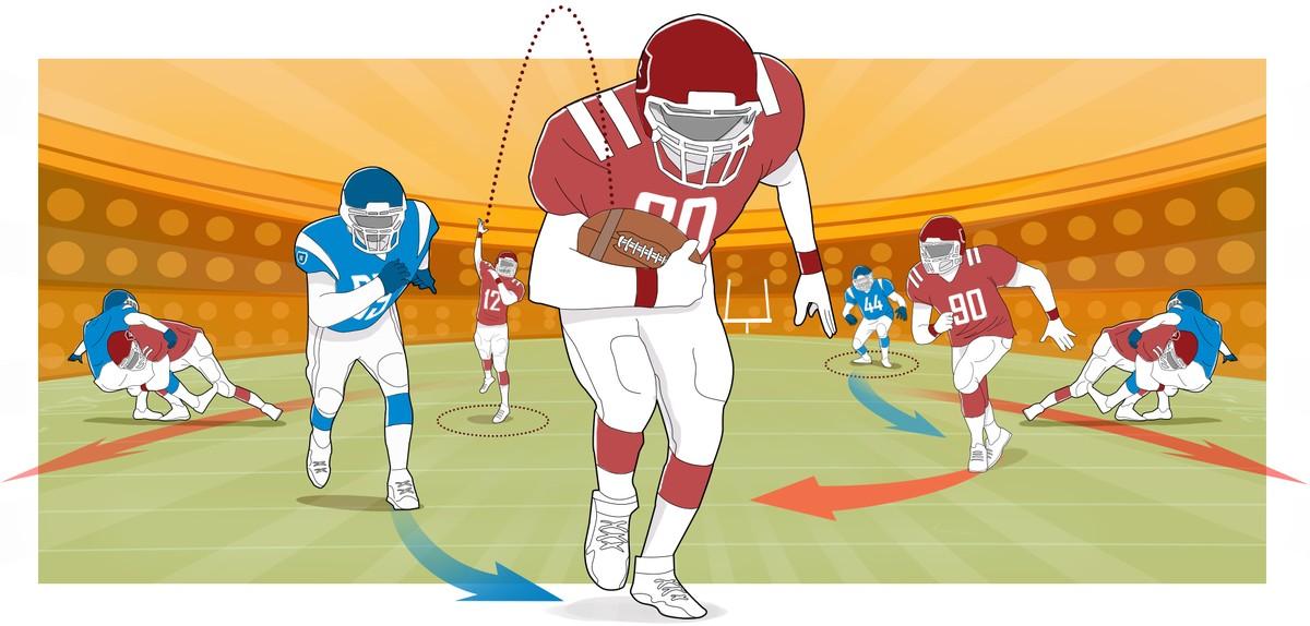 É novato ! Entenda como funciona um jogo de futebol americano no ... ed0ea09a3b9ff
