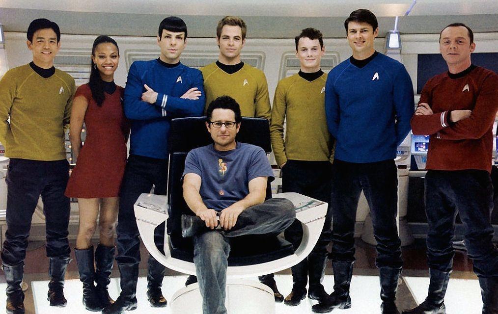 J.J. Abrams na época que dirigiu o remake inicial de Star Trek (Foto: Reprodução)