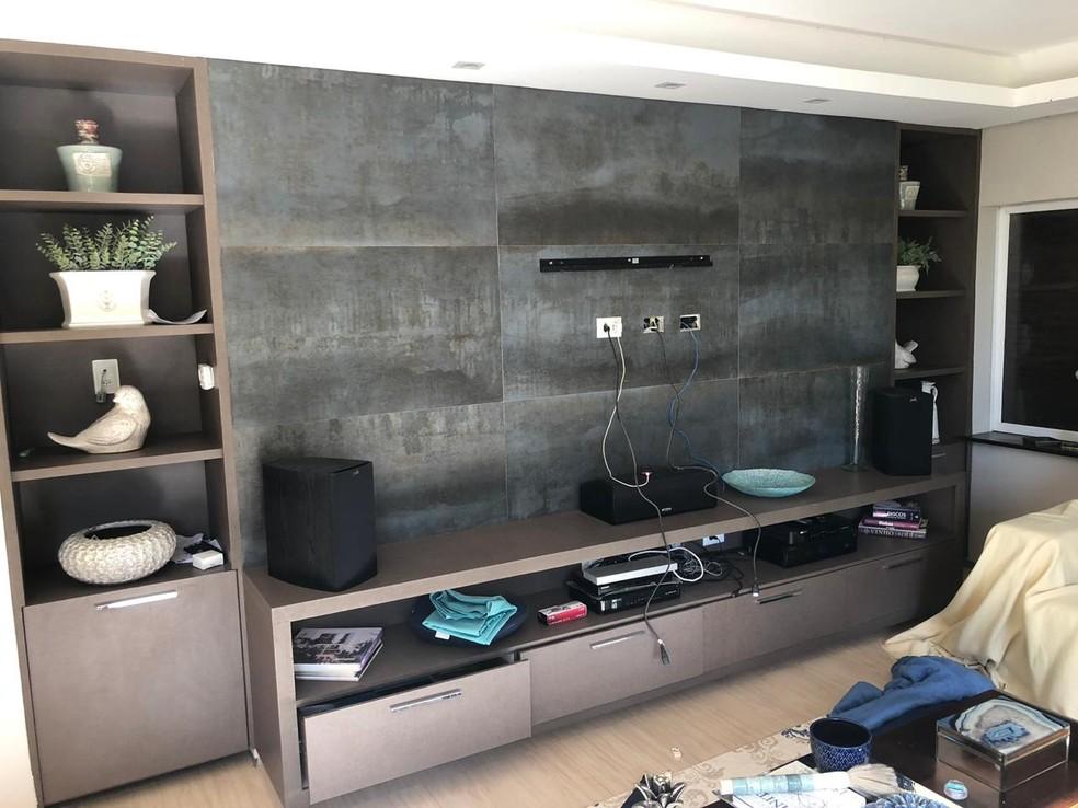 Homens armados invadem residência, rendem família e fazem arrastão na casa de vereador em Teresina — Foto: Arquivo Pessoal