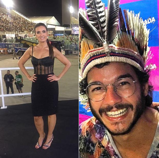 Fátima Bernardes e Túlio Gadêlha (Foto: Reprodução/ Instagram)