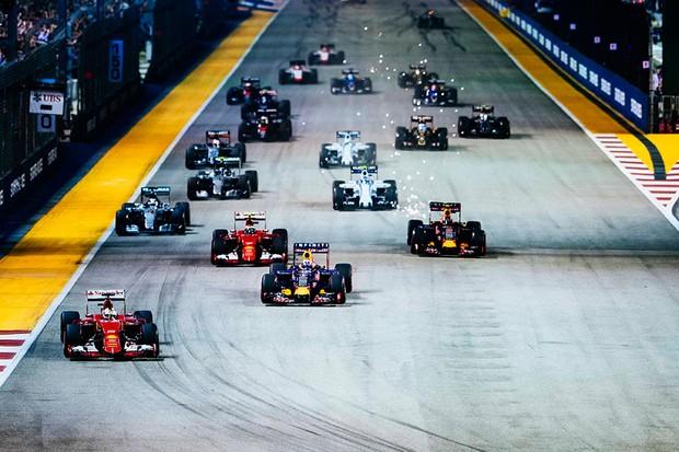 Grande Prêmio de Cingapura de Fórmula 1 (Foto: Ferrari)