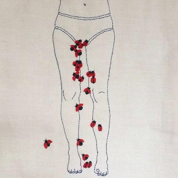 Ilustração da artista Patricia Guarda (@patricia.guarda) (Foto: Reprodução/Instagram)