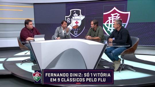 """Caio vê Vasco favorito contra Fluminense e alerta Fernando Diniz: """"Futebol é equilíbrio"""""""