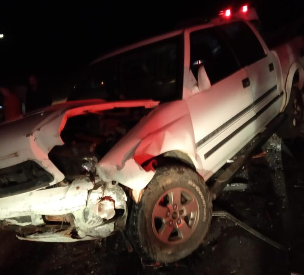 Acidente matou uma pessoa em Caiabu — Foto: Edinaldo Oliveira Santos/Cedida