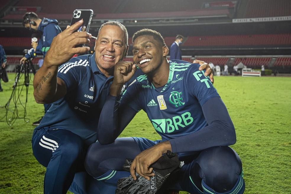 Wagner Miranda, preparador do Flamengo faz balanço da temporada de Hugo