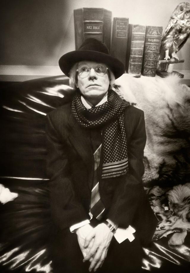 Clique que ele fez de seu mentor Andy Warhol (Foto: Divulgação)