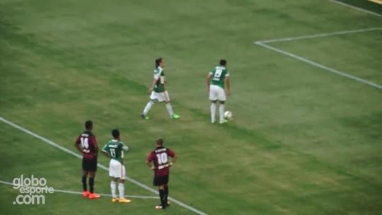 Choro, sacrifício e promessa: em casa, Valdivia reencontra arena do Palmeiras