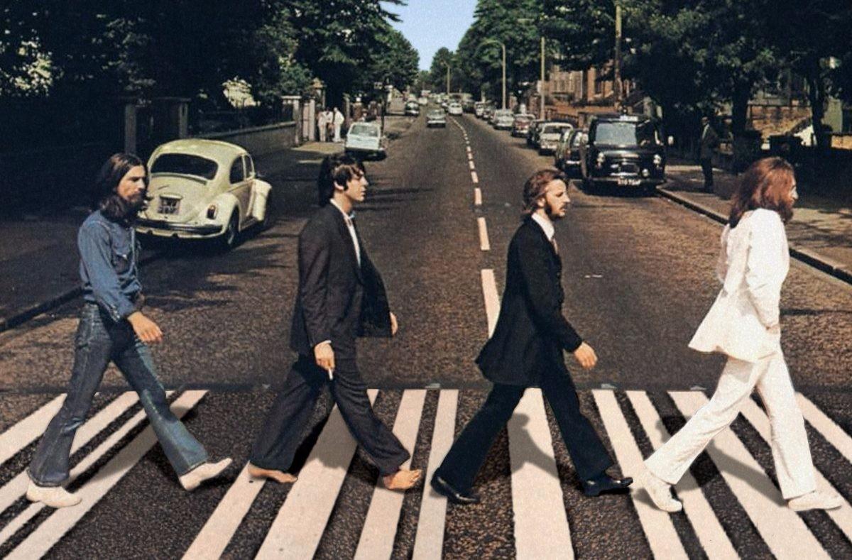 """Capa de """"Abbey Road"""", 12º álbum da banda The Beatles, lançado em setembro de 1969 (Foto: Divulgação)"""