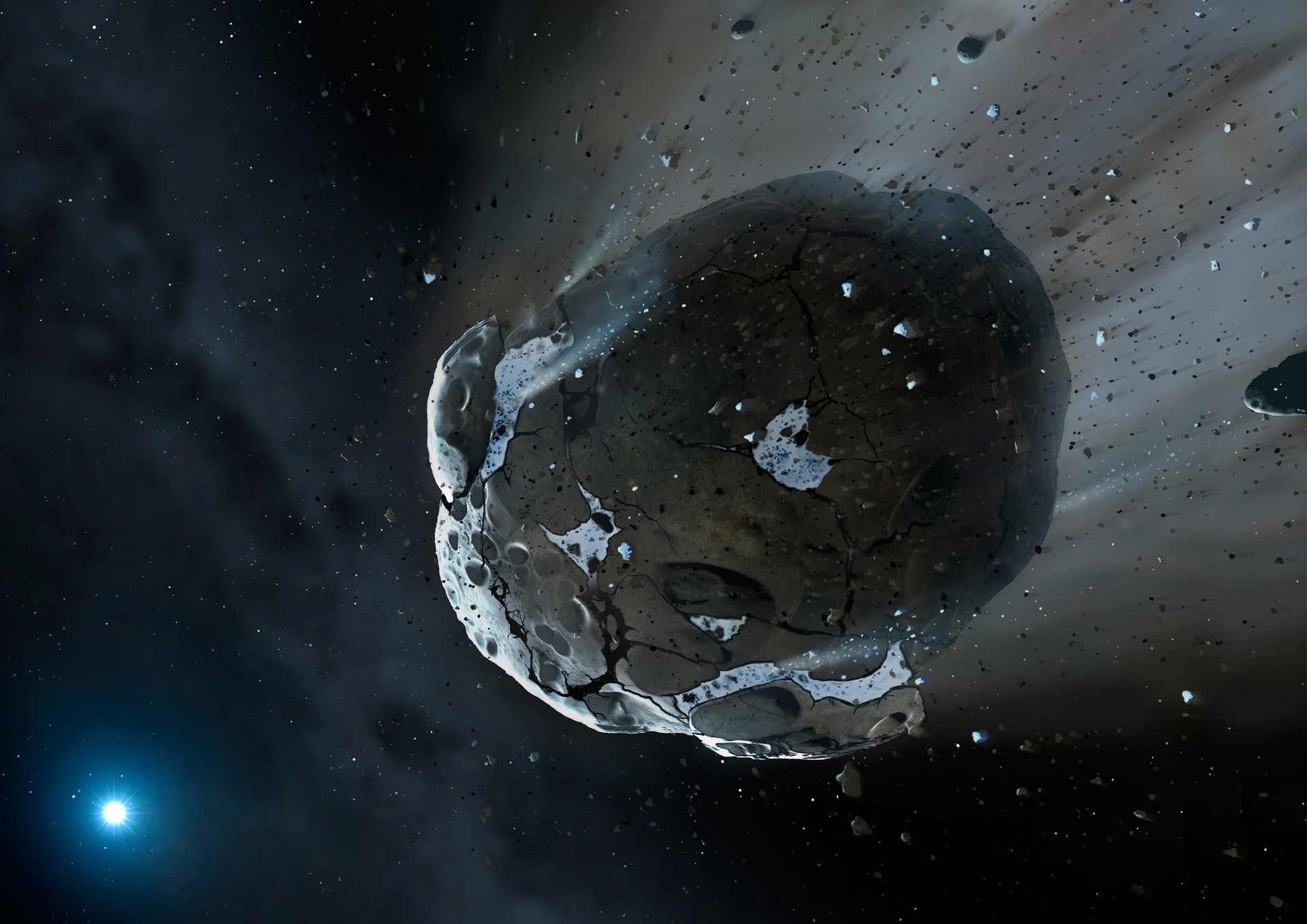 asteroide (Foto: wikimedia commons)