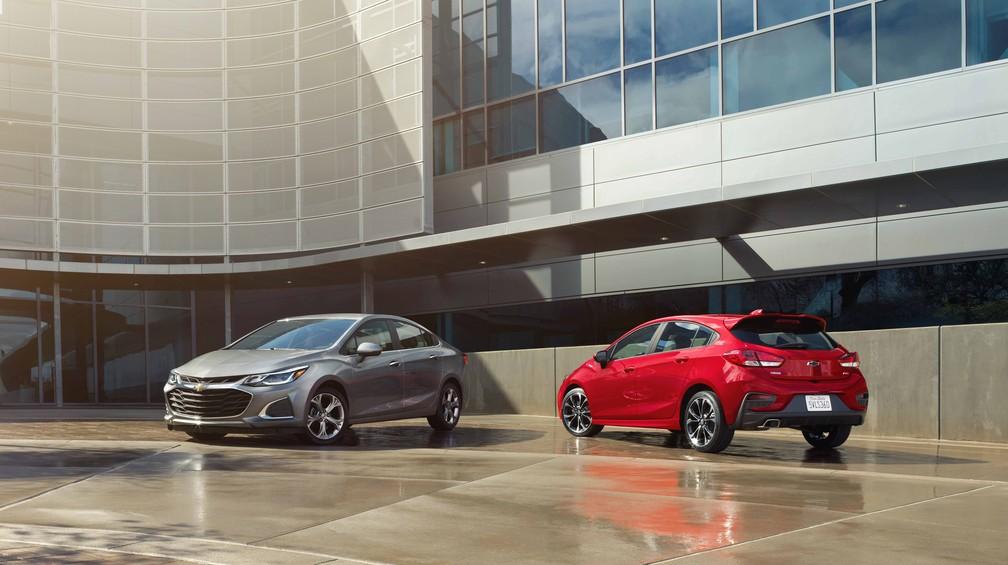 Chevrolet Cruze 2019 é apresentado nos Estados Unidos — Foto: Chevrolet/Divulgação