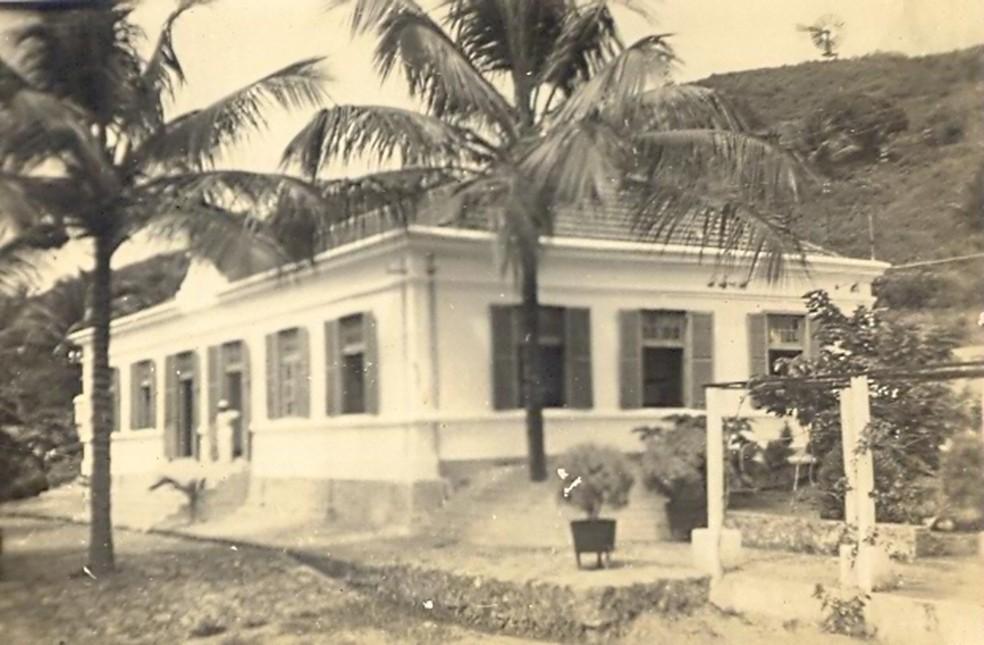 Instalações da Italcable, em 1938  — Foto: Dante Peló/Acervo Administração de Fernando de Noronha