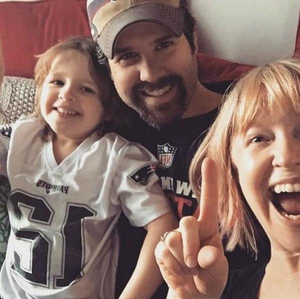Angela Goethals e sua família (Foto: Reprodução Instagram)