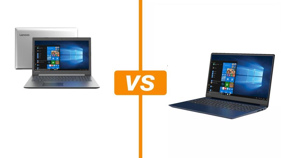 Ideapad 330 vs 330S: compare ficha técnica e preço dos