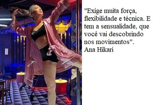 """No elenco de """"Quanto mais vida melhor"""", Ana Hikari também terá cenas de pole dance na novela (Foto: Divulgação)"""
