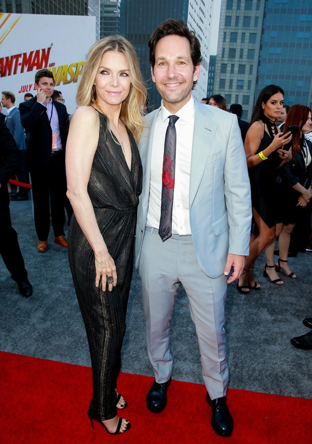 Michelle Pfeiffer e Paul Rudd (Foto: Getty Images)