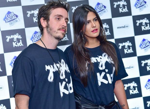 Antonia Morais e Wagner Santisteban (Foto: Leo Franco/AgNews)