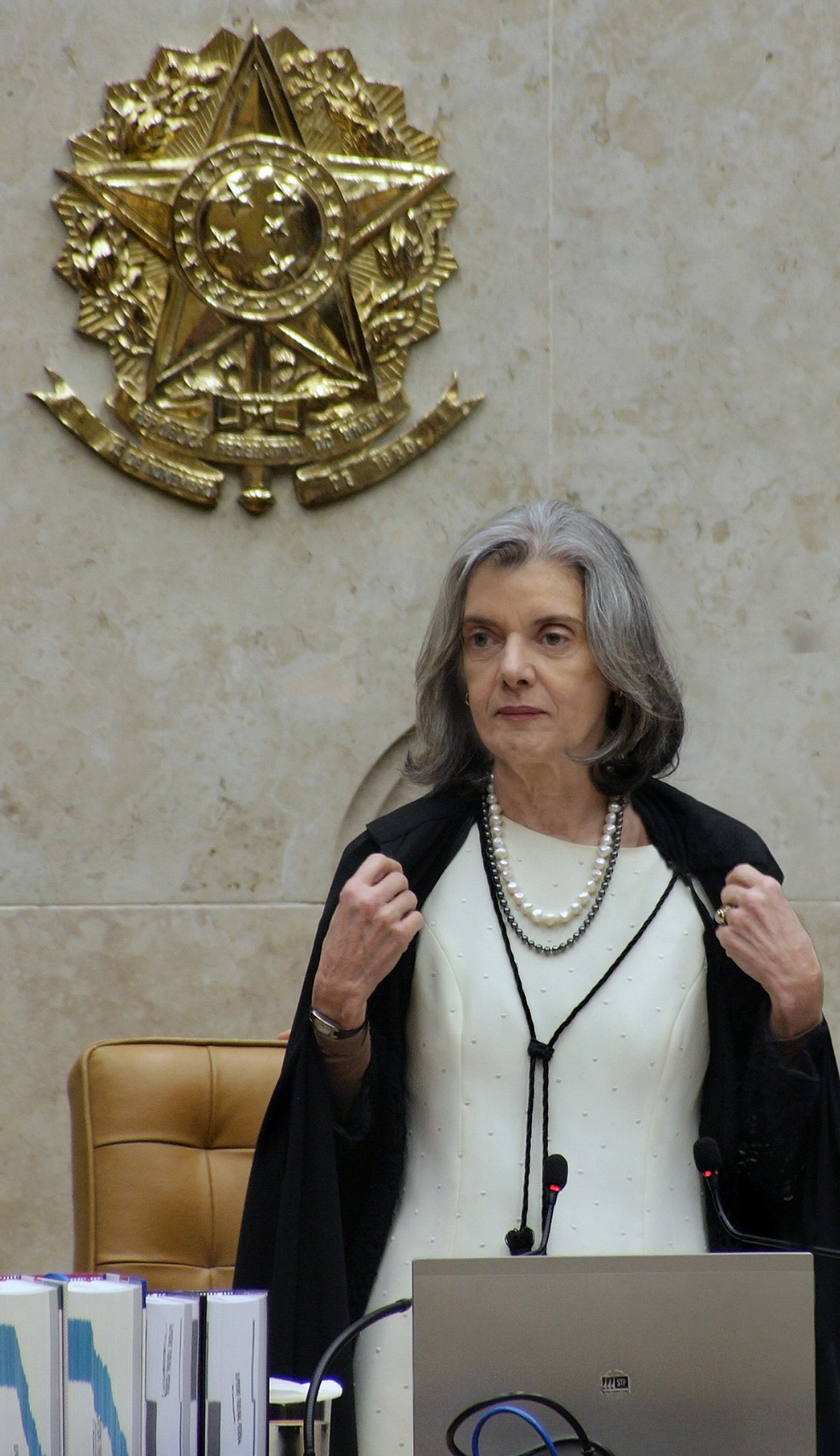 Cármen Lúcia desempatou o julgamento ao votar a favor do modelo