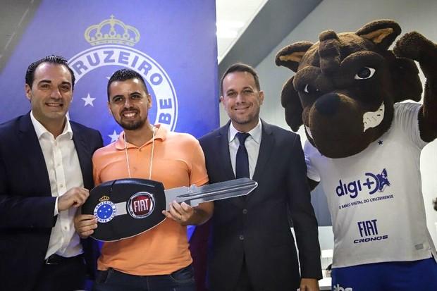 Cruzeiro e Fiat  (Foto: Site Cruzeiro )