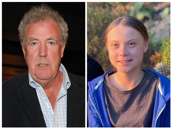 Jeremy Clarkson e Greta Thunberg (Foto: Getty Images / Instagram)