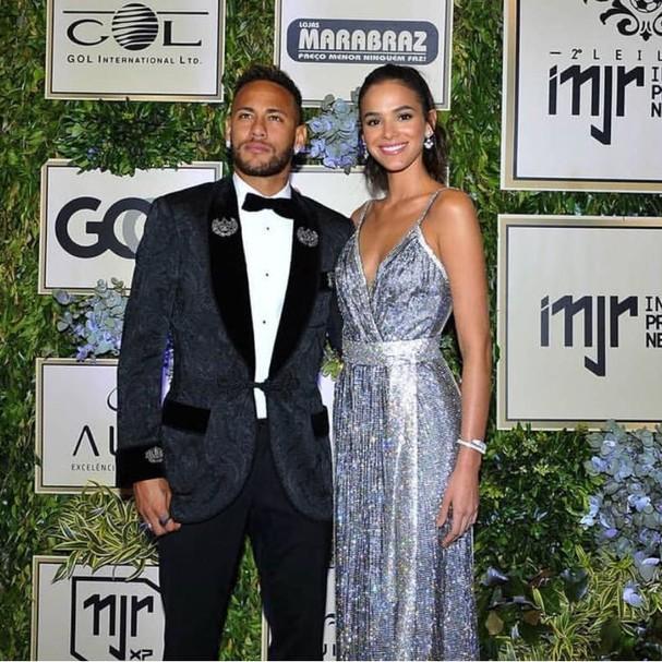 Bruna Marquezine e Neymar Jr. (Foto: Instagram/Reprodução)