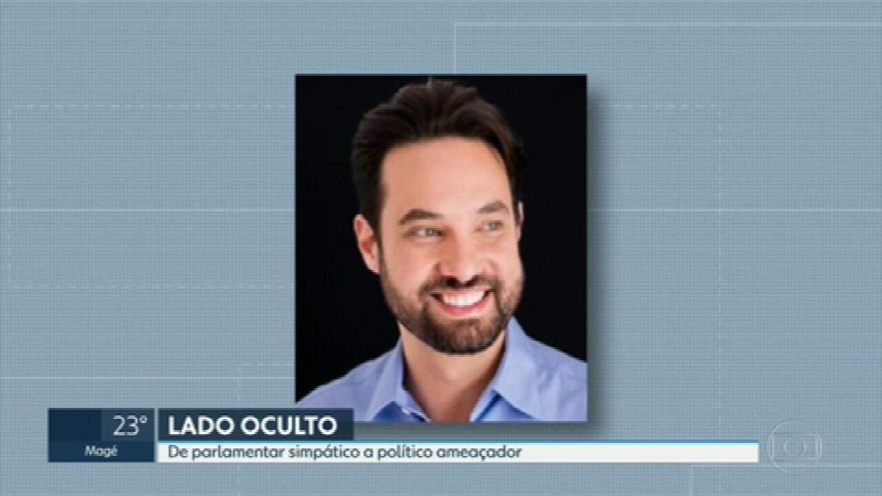 Vereador Dr.Jairinho se mostrava simpático e cortês, mas tinha um lado desconhecido