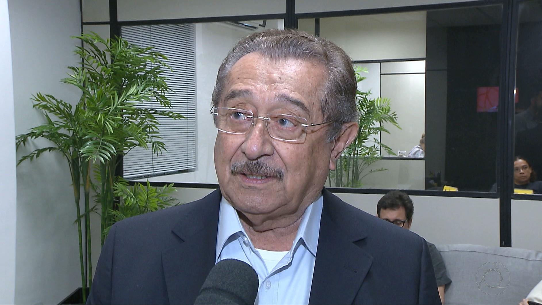 Senador José Maranhão tem piora no quadro clínico provocado pela Covid-19 e é transferido para UTI