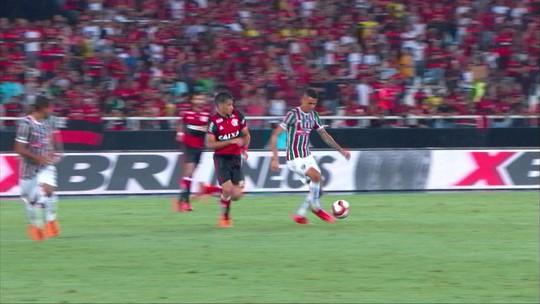 Melhores momentos de Fluminense 1 x 1 Flamengo pela semifinal da Taça Rio