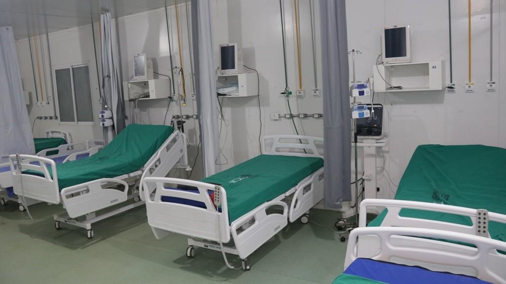 Hospital de Campanha de Porto Velho passa a funcionar com 40 leitos de UTI