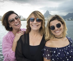 Renata Sorrah, Giovanna Antonelli e Vanessa Giácomo   Estevam Avellar