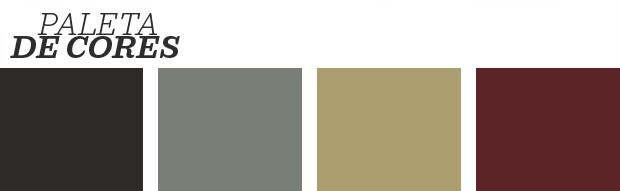 Décor do dia: Sala de jantar sofisticada preta com dourado (Foto: Reprodução)