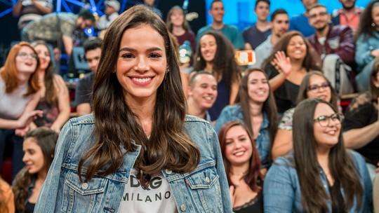 Bruna Marquezine sobre interpretar Catarina, sua primeira vilã: 'Um baita desafio'
