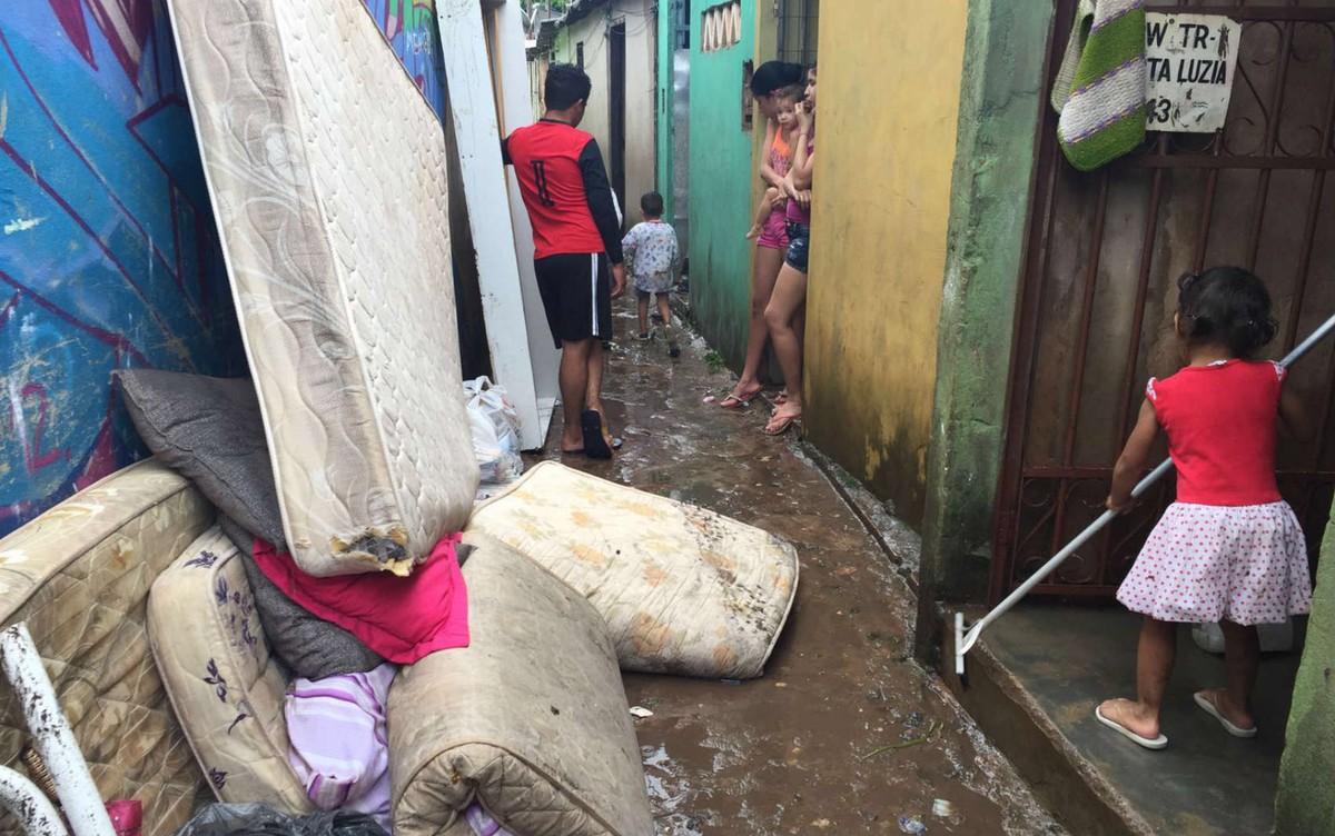 Vila Cauhy continua sob risco ambiental, diz GDF; região foi inundada em 2016