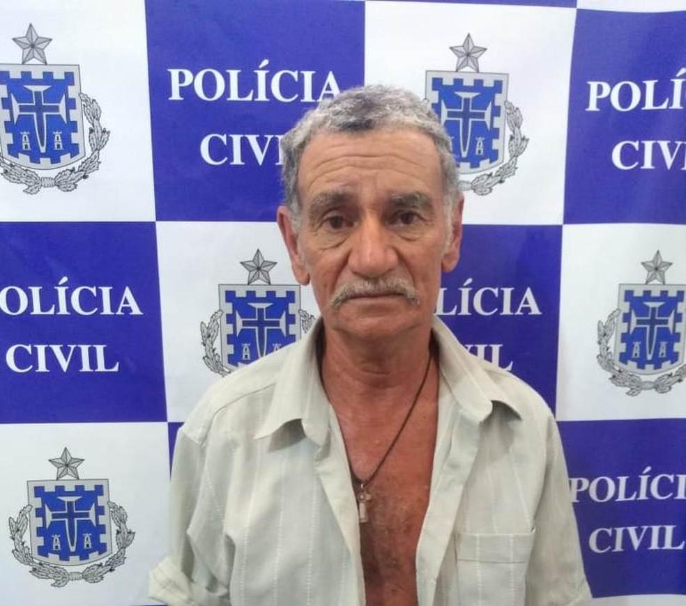 Homem é preso suspeito de atear fogo em casal no centro-sul da Bahia — Foto: Divulgação/PC