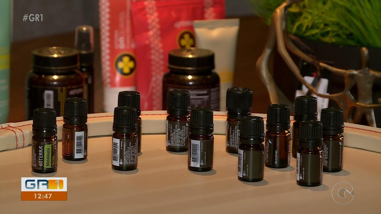 Óleos essenciais fazem sucesso em tratamentos terapêuticos