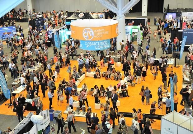 O Content Marketing World, maior evento de marketing de conteúdo do mundo recebeu mais de quatro mil participantes em setembro de 2018 (Foto: Divulgação)