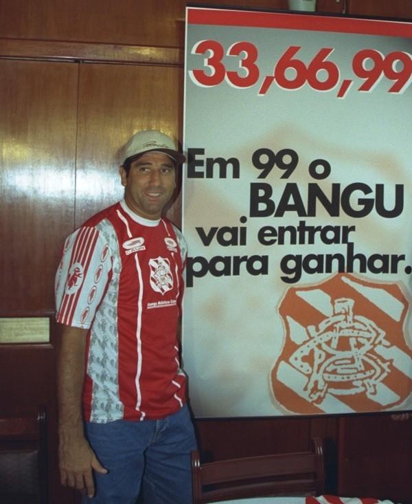 Apresentação de Renato Gaúcho no Bangu