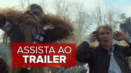 'Star Wars: Episódio VII – O despertar da força' ganha novo trailer