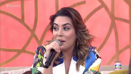Naiara Azevedo fala sobre traição: 'Para mim, fez uma vez só!'