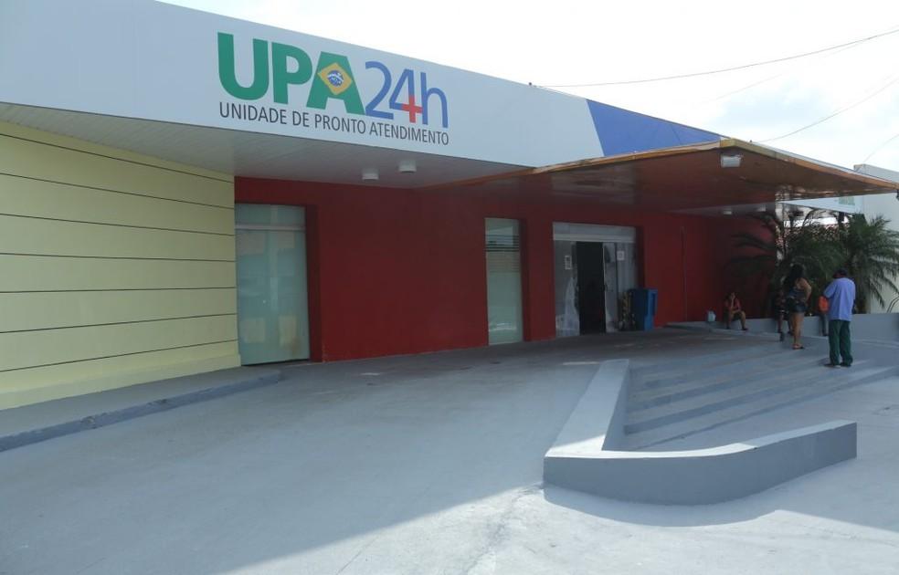 Unidade de Pronto Atendimento (UPA) do Vinhais, em São Luís (MA) — Foto: Divulgação/Governo do Maranhão