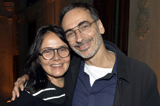 Mini Kerti com o marido, Luiz Zerbini (Foto: Cristina Granato)