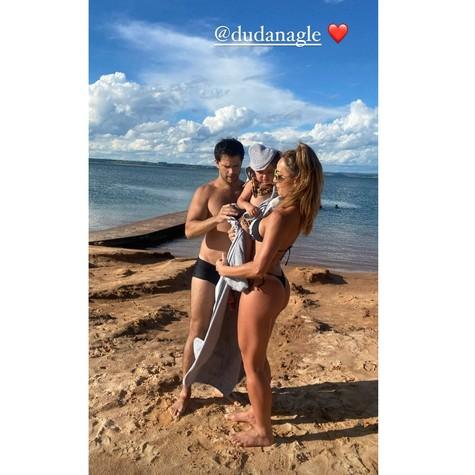 Sabrina Sato comemora cinco anos com o marido, Duda Nagle (Foto: Reprodução Instagram)