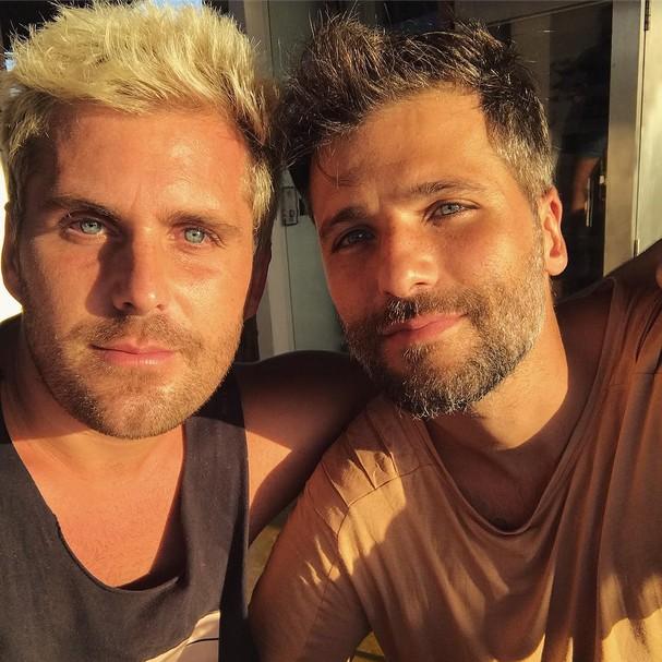 Bruno e Thiago Gagliasso (Foto: Reprodução)