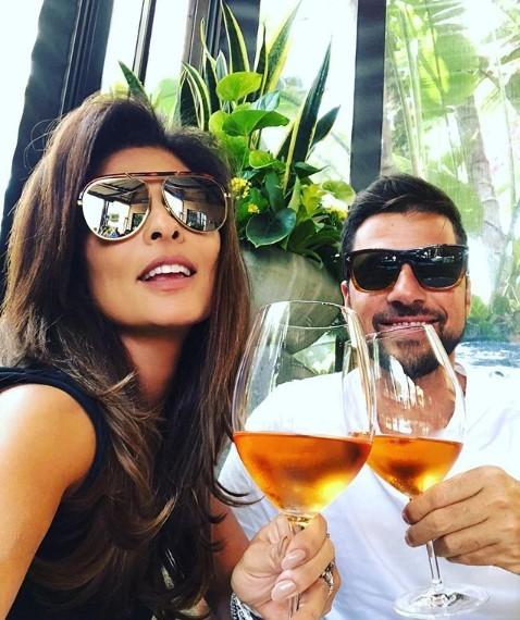 Juliana Paes na Califórnia com Eduardo Baptista (Foto: Reprodução Instagram)