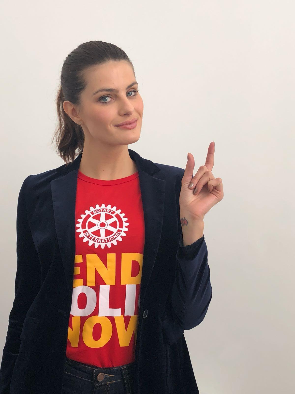 Isabeli Fontana é embaixadora do Rotary (Foto: Divulgação)