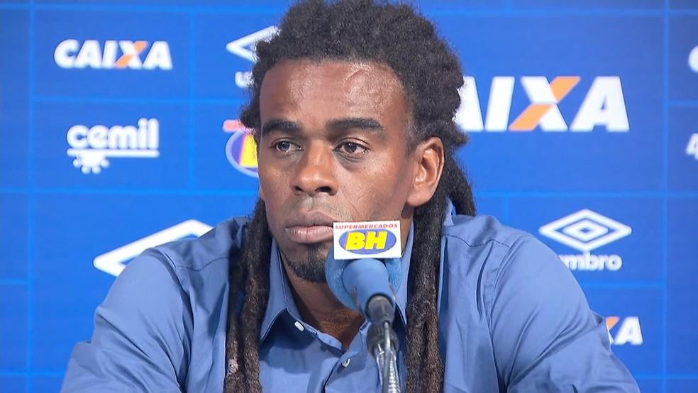 Tinga não será mais o gerente de futebol do Cruzeiro na próxima temporada (Foto: Reprodução/ TV Globo MInas)