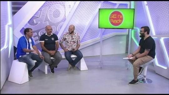 """GE na Rede especial Re-Pa: edição recebe ídolos de Leão e Papão e analisa """"clássico da década"""""""