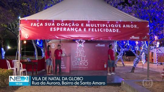 Saiba como doar presentes na Vila de Natal da Globo