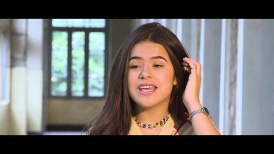 Maisa Silva define personagem do filme 'Tudo por um popstar', fã de banda pop: 'Ela é empoderada'