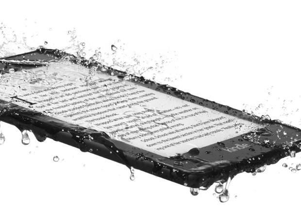 Kindle Paperwhite à prova d'água (Foto: Divulgação)